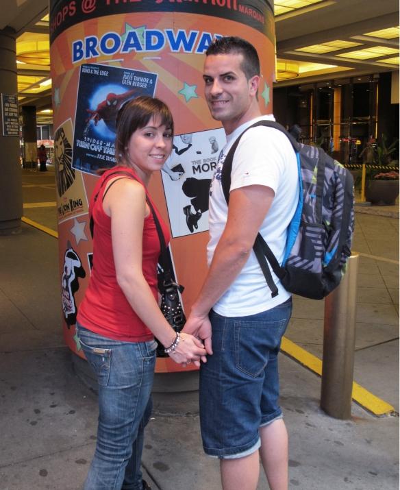 Lui e lei in vacanza a Broadway Foto©CesareZucca