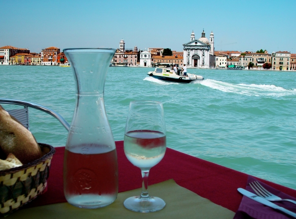 La Palanca at the Giudecca
