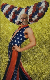 That's me as a patriotic Priscilla...lol