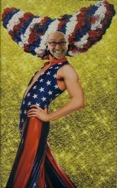 That's me as a patriotic Priscilla...lol