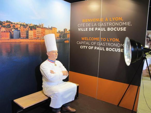 Chef Paul Bocuse. straight from Madame Tussaud's Wax Museum