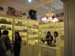 A new delicate rose filled at Loison charming store