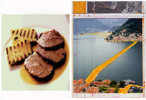 A traditional 'manzo all'olio'with polenta Photo Cesare Zucca ©2016 The Floating Piers Photo Andre' Grossman © Christo 2105 copy