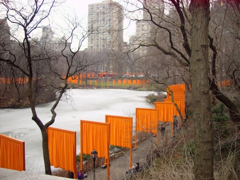 The Gates at Central Park Photo Cesare Zucca